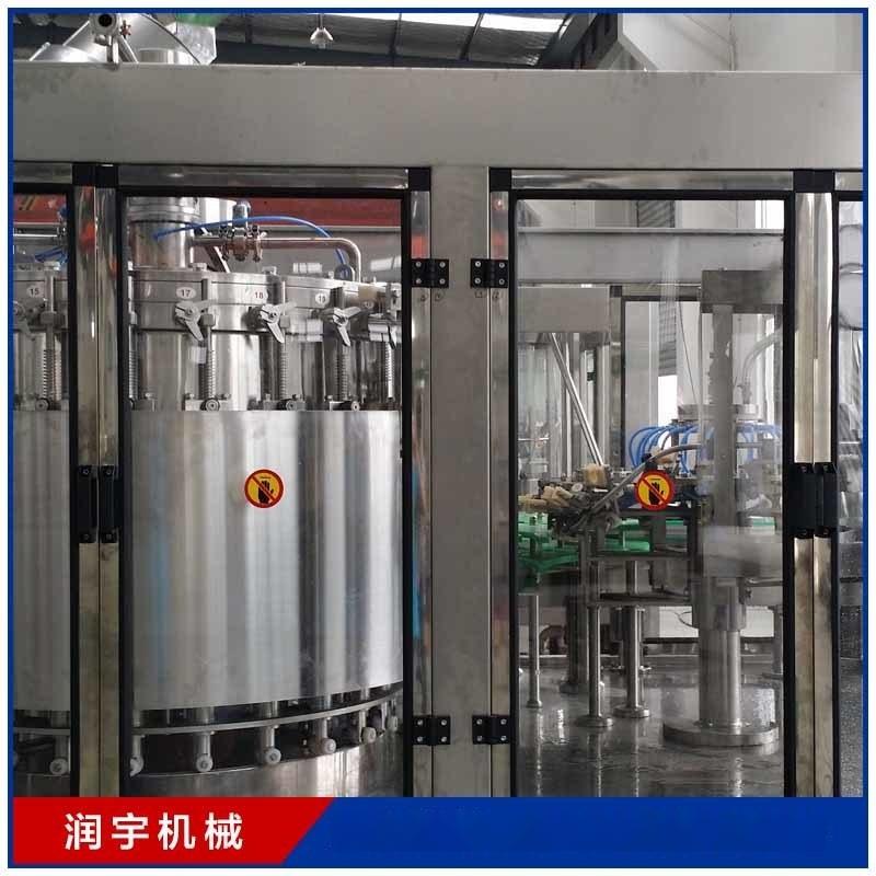 张家港市润宇机械桶装灌装生产线