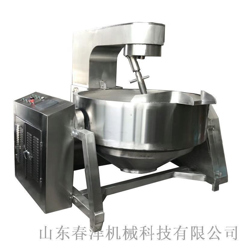 春泽机械新品推荐电磁加热行星搅拌锅