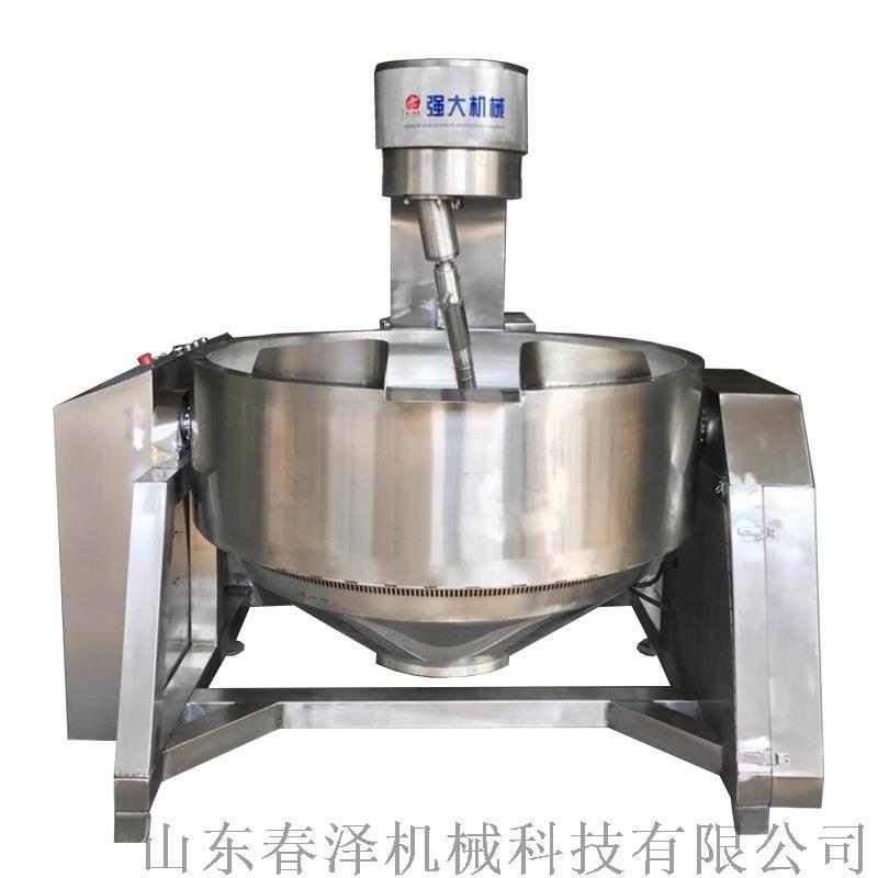春泽机械出售新款电磁加热全自动行星搅拌锅