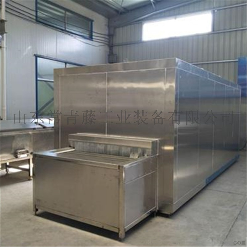 海产品速冻机 盒装带鱼100KG隧道式速冻机