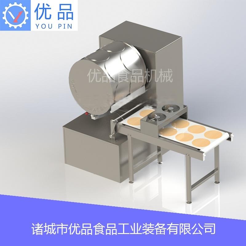 自动荷叶饼机 自动烤饼机 自动烙饼机
