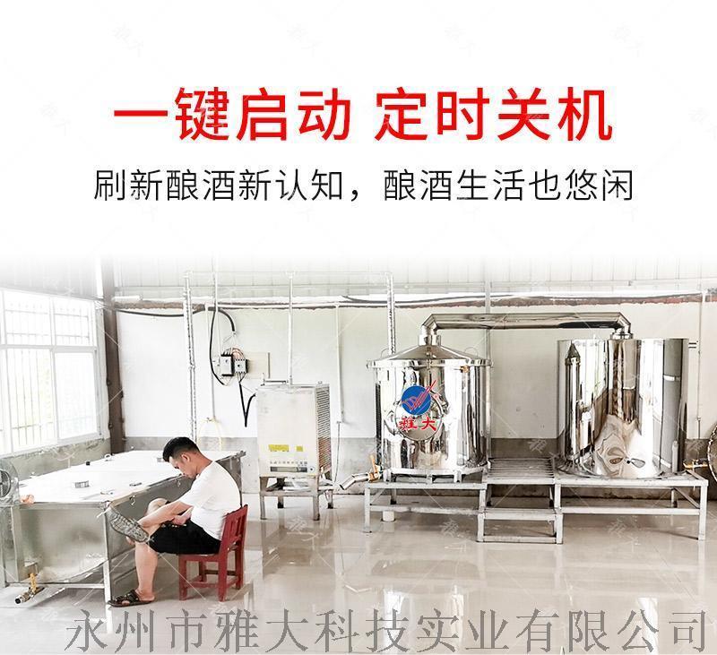 雅大新型电加热酿 设备200斤厂家直供