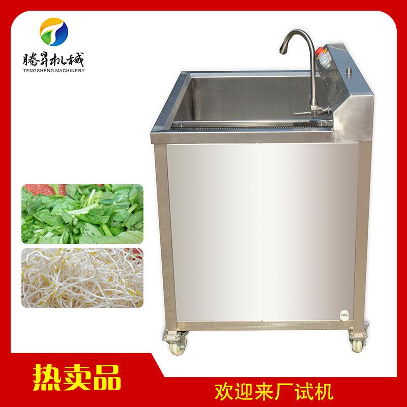 鼓泡翻滚式蔬菜 洗果 气泡式苦瓜清洗机