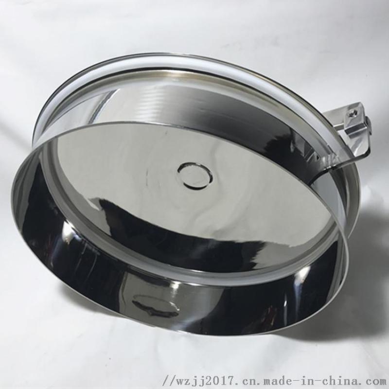 YAB常压人孔 卫生级常压人孔厂家 快开人孔规格