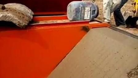 水渠现浇成型机 T型工型渠道成型摊铺