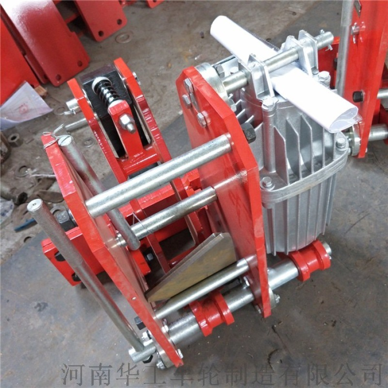 YFX-600电力液压防风铁楔 龙门吊防风装置