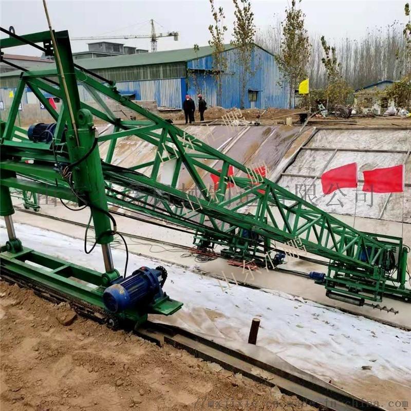 高速公路护坡摊铺机 大型沟渠斜坡混凝土摊铺机