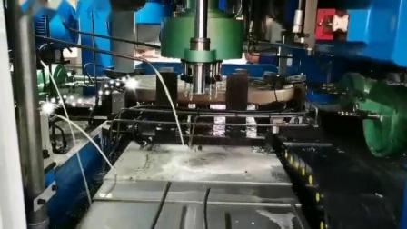 全自动钻孔攻丝机汽车座椅螺母加工专机