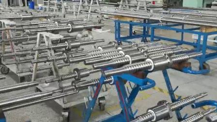 南京工艺滚珠丝杠FFZL2004LH-3-P5/410x330
