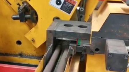 管类加工设备,高速圆锯机,双头倒角机