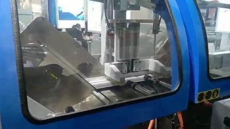 厂家直销明美铝型材精密双头切割锯 铝型材加工设备