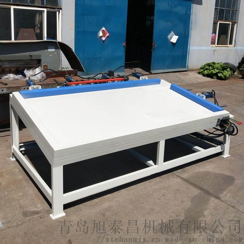 平台式木门组框机 单工位门窗组装机 实木相框组合机