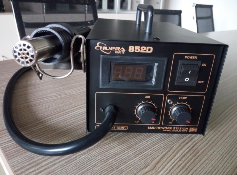 厂家直销安泰信同款852D 数显热风拆焊台