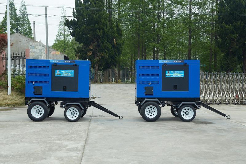 大泽动力 600A双把发电电焊机