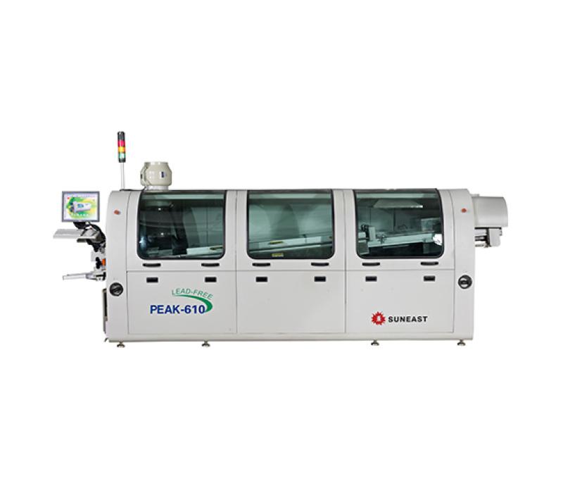 日东波峰焊PEAK-610无铅热风波峰焊