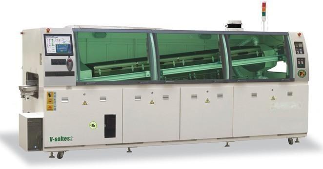 和西SMT老李WS-350PC-N全自动无铅氮气波峰焊机