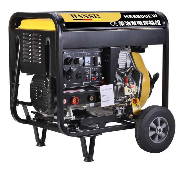 发电电焊通用一体机190A柴油