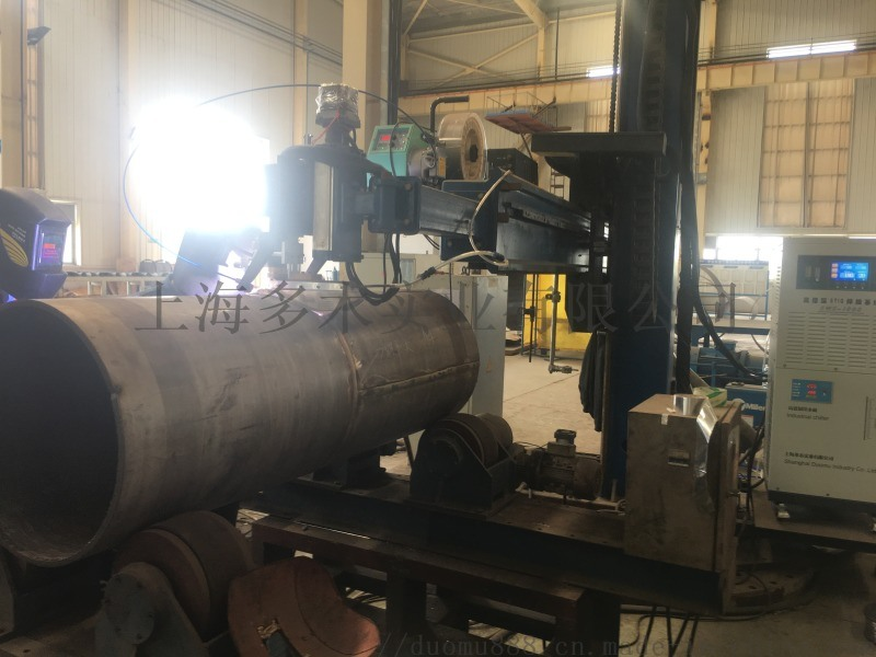 多木K-TIG高熔深直环缝焊接机