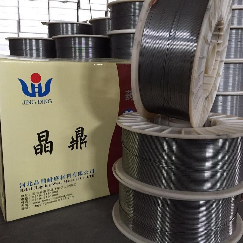 岩棉设备辊头堆焊用耐高温耐磨药芯焊丝