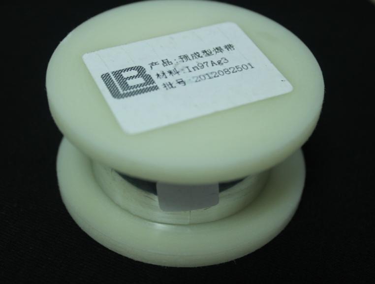 铟合金预成型焊片 (In97Ag3)