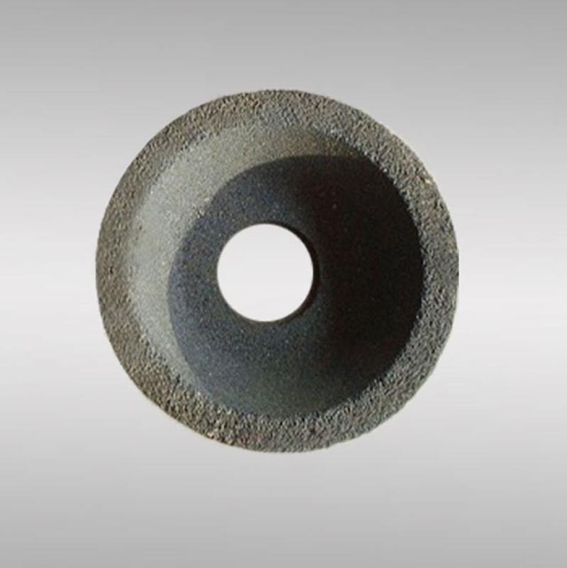 白鸽棕刚玉150碗型砂轮 异形磨具