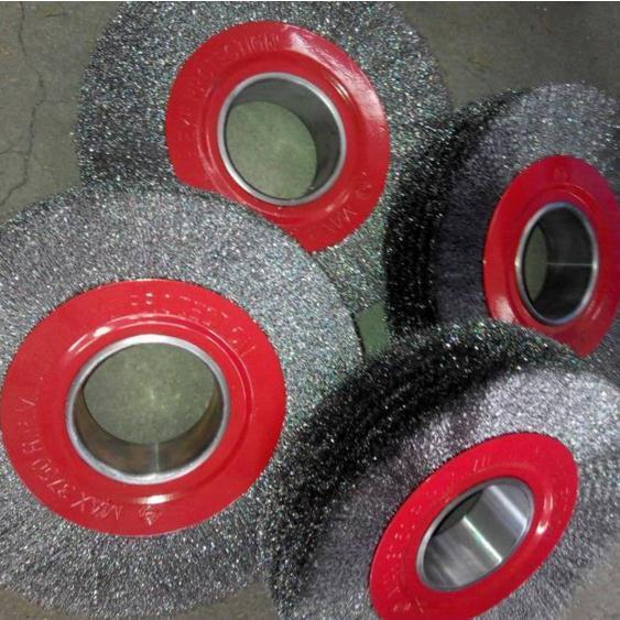 刷厂直销钢丝抛光毛刷轮,抛光除锈除污钢丝轮,五金工具钢丝刷
