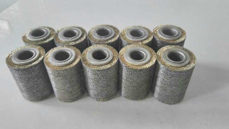 【长期销售】优质镀铜钢丝轮 刷铜丝轮 抛光打磨钢丝轮 可定制