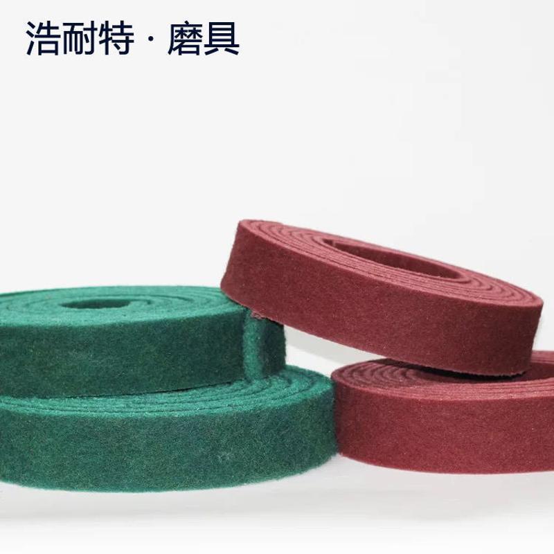 工业百洁布金属不锈钢抛光布 不锈钢除锈铁板烧去污布工业百洁布