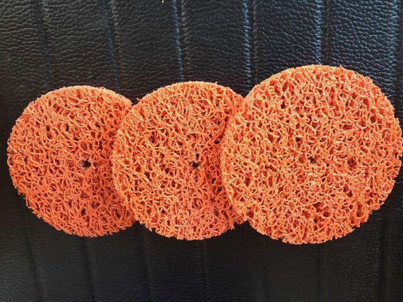 SG磨料橙色黑金刚磨片高品质陶瓷磨片