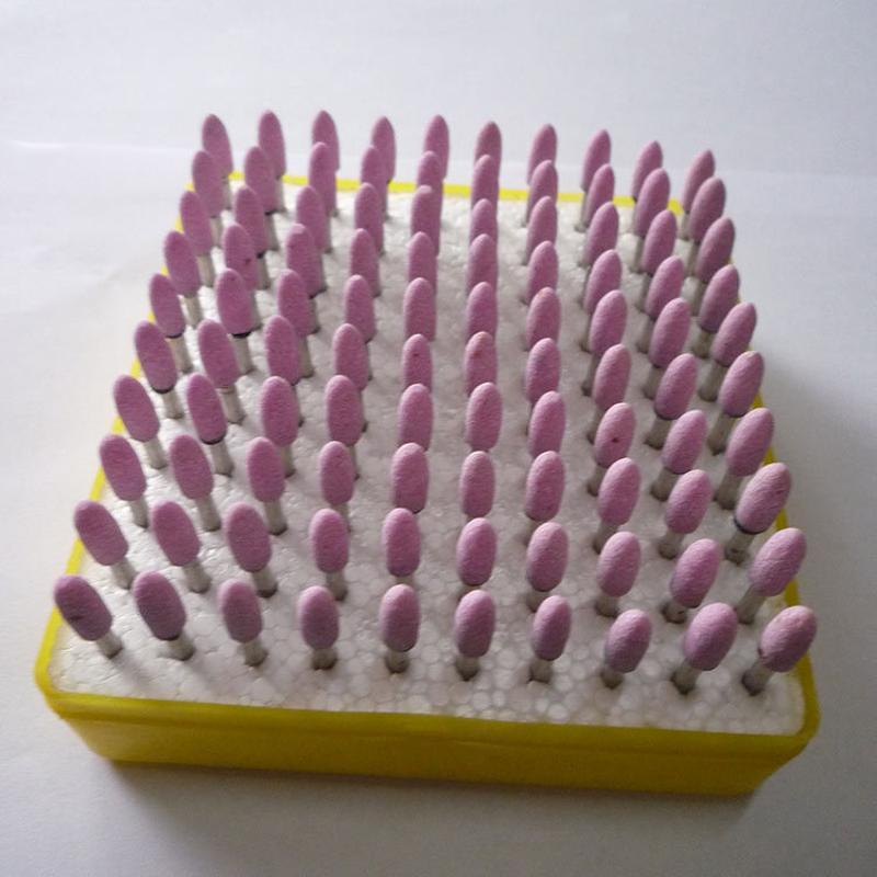 铬刚玉带柄小磨头 各种规格材质砂轮磨头 磨具