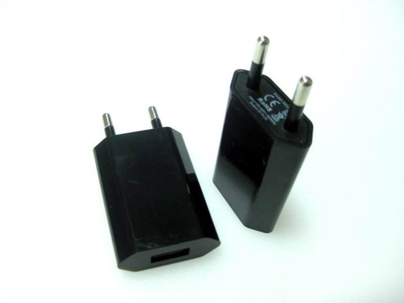 欧洲插头充电器5v1a欧规usb充电器 ce充电器