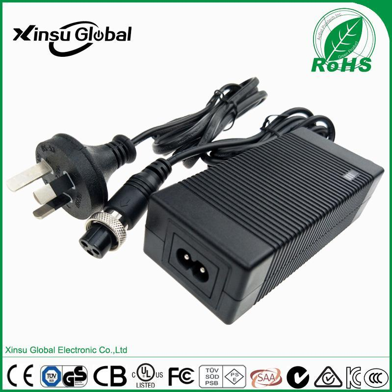 12V5A电源 xinsuglobal 澳规RCM SAA C-Tick认证 XSG1205000 12V5A电源适配器