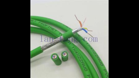 PROFINET总线电缆接插头线缆RJ45连接器