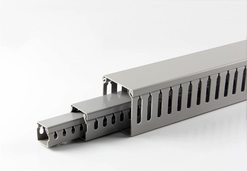 湖北PVC40*40灰色优质线槽