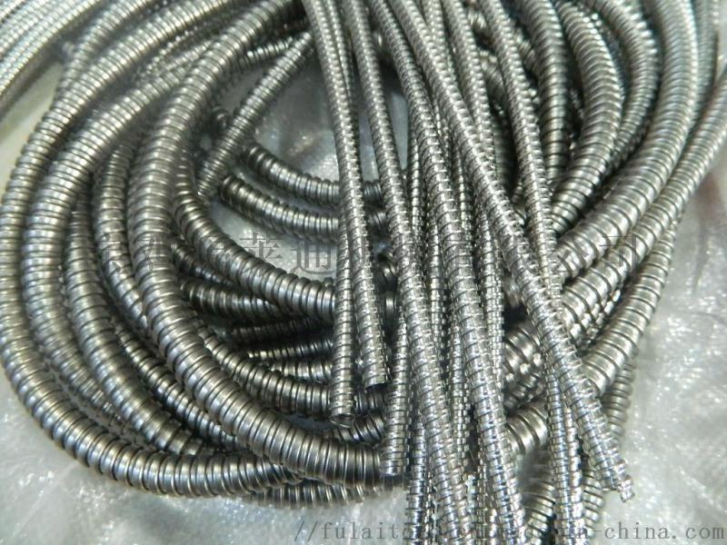 304不锈钢单扣金属软管福莱通厂家供应