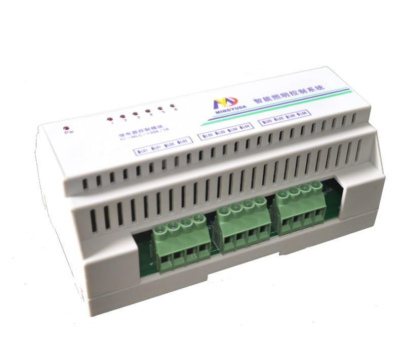 厂家直销明宇达12路智能照明控制模块,8路16A智能照明模块