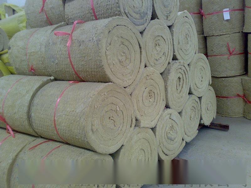 低氯岩棉毡 设备用岩棉卷毡
