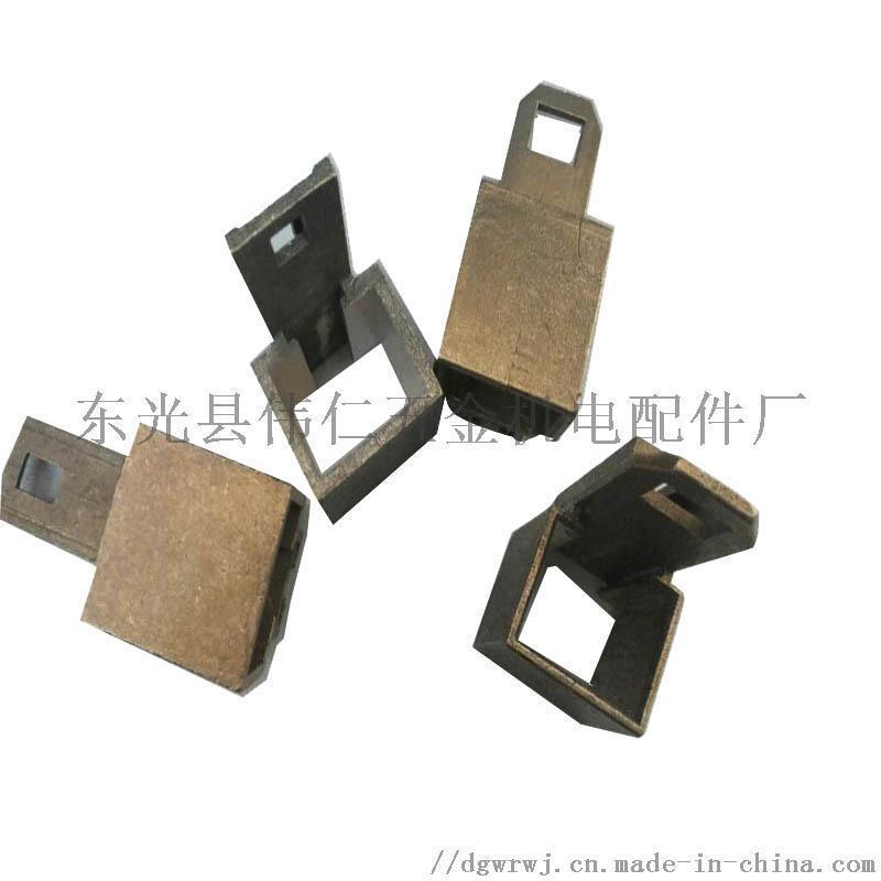 YRKK710湘潭电机碳刷架25*32铸铜刷盒