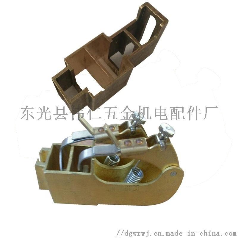 唐山钢厂电机配件 水泥包装机械碳刷 刷架