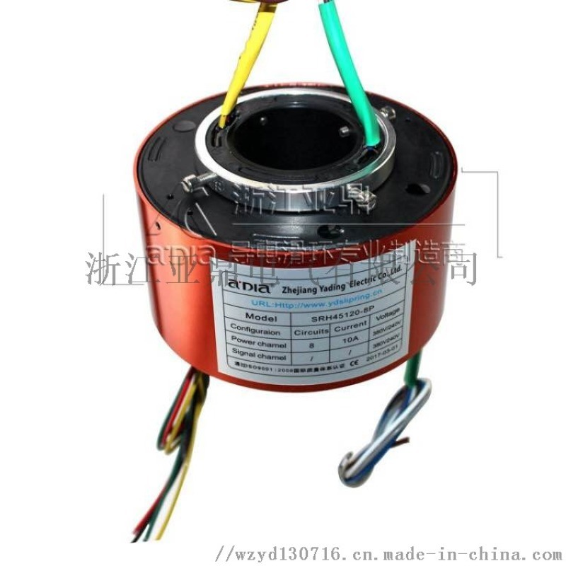 精密型过式导电环 导电滑环生产厂家 通孔式滑环