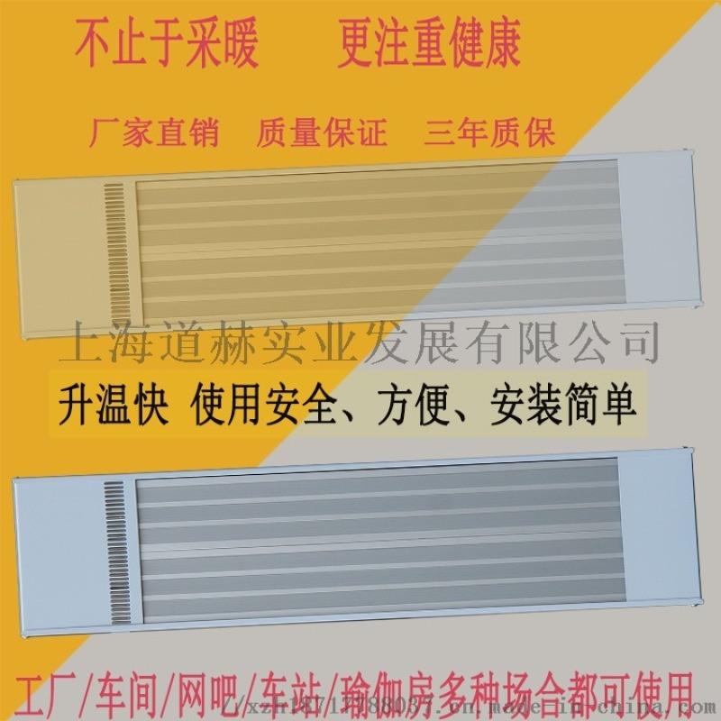 远红外电热幕取暖器上海九源SRJF-10静音热风幕