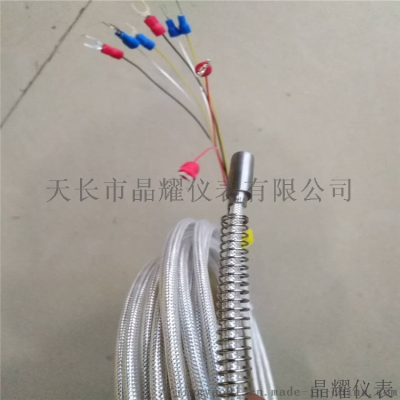 晶耀仪表 双支端面热电阻 热电阻生产厂家