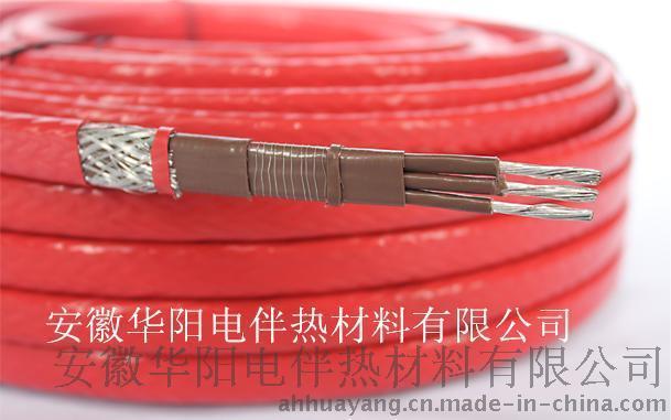 华阳生产三芯恒功率电伴热带380V恒功率加热电缆