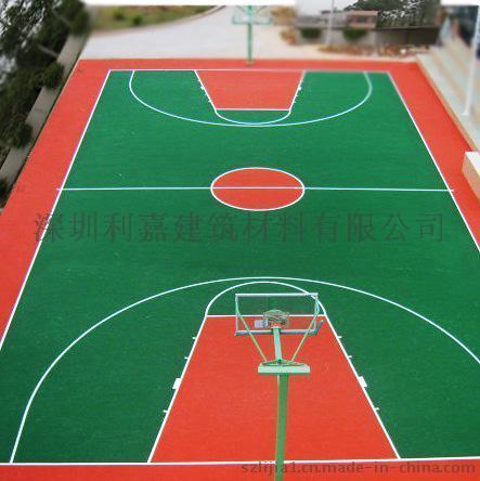 丙烯酸篮球场 深圳丙烯酸网球场施工报价格