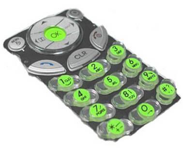 手机按键UV光油