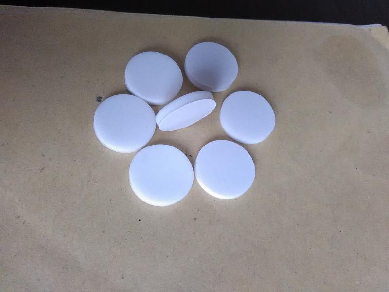 苏州吴雁电子试制瓶盖垫片、化学试制品瓶盖PTFE+硅胶复合垫片