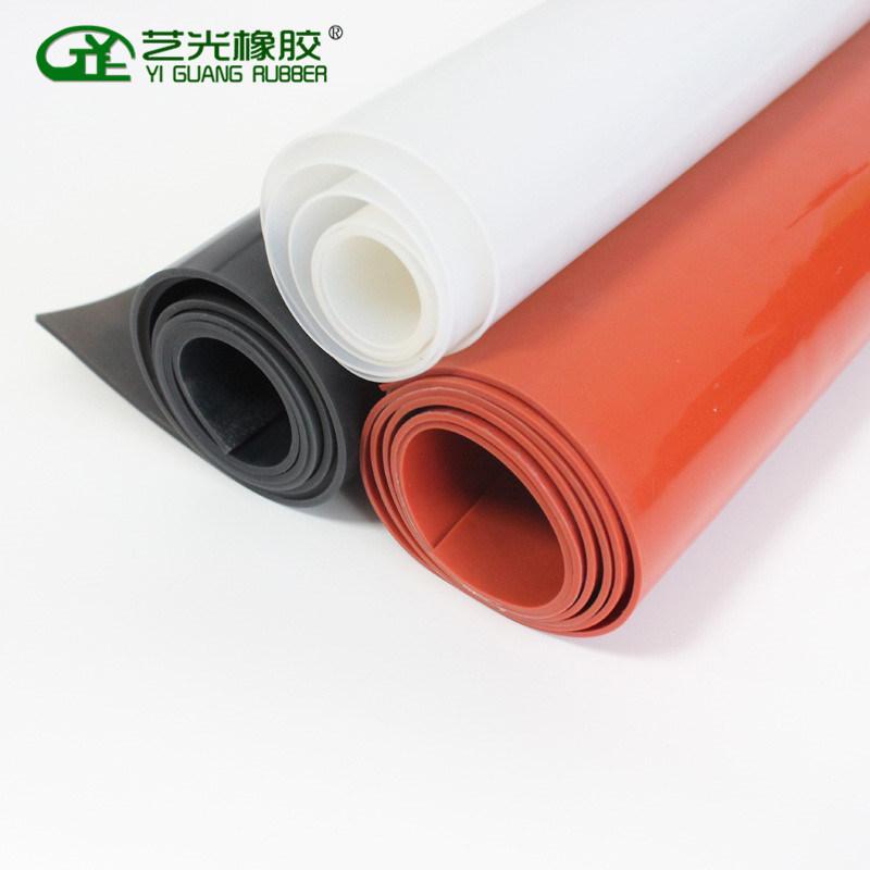 厂家直销耐磨损耐高温硅胶板 白色透明硅胶板