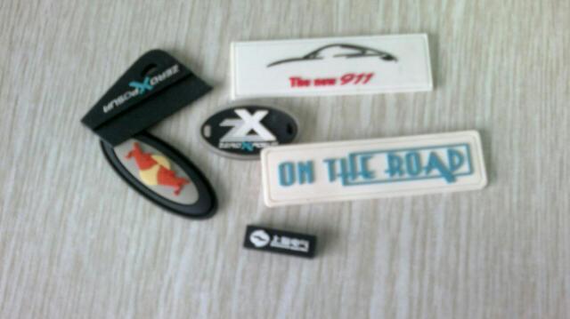 橡胶标牌,橡胶商标,PVC商标