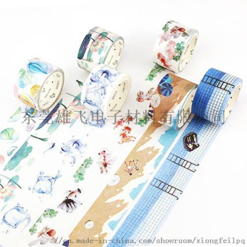 手账和纸胶带烫金磨砂等工艺装饰美化