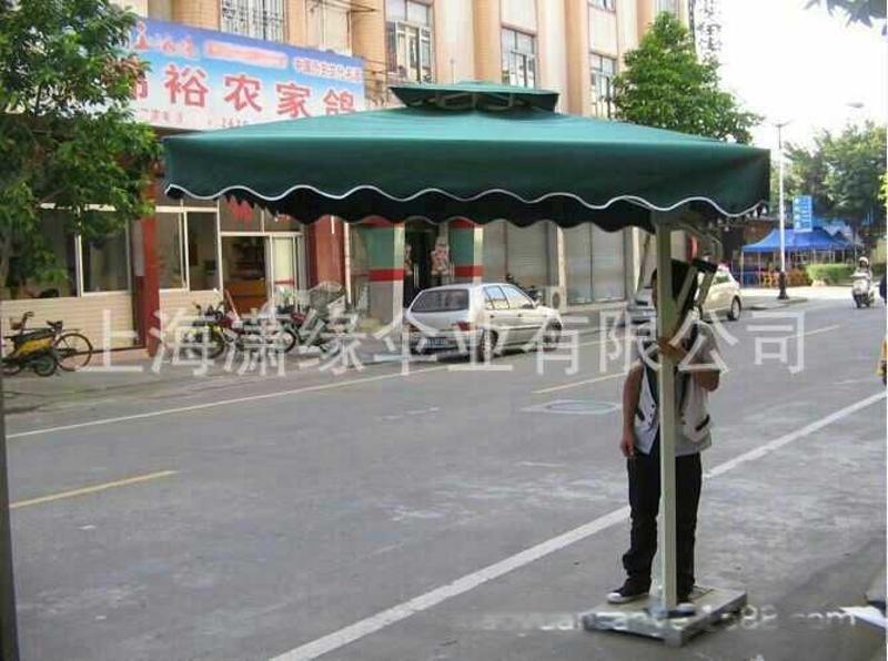 侧立庭院伞、单边岗亭伞、户外遮阳伞定制